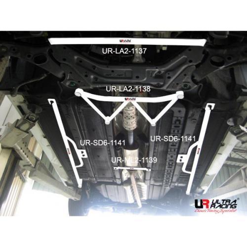 Kia Sportage 10+ 2WD Diesel UltraRacing 2-Punkts Främre Nedre Stabiliseringsstag