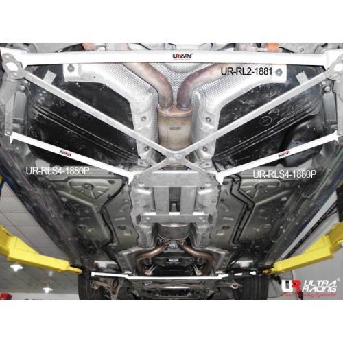 Porsche Panamera 3.6 V6 09+ UltraRacing 2-Punkts Bakre Nedre Stabiliseringsstag 1881