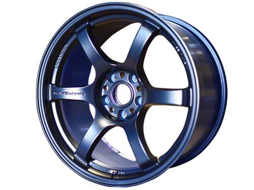 Gram Lights 57DR, 15X8.0, 35, 4x100, DARK BLUE