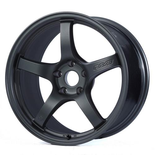 Gram Lights 57CR, 17X9.0, 12, 5x114.3, GUN BLUE 2