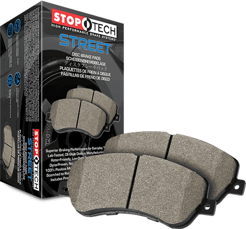Ford / Land Rover / Volvo Street Brake Pads Rear Stoptech