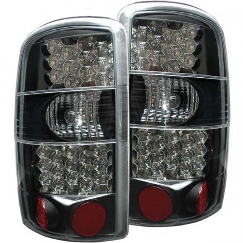 Chevrolet Suburban 2000-2006 LED Taillights Black ANZO