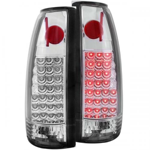 Chevrolet Suburban 1992-1999 LED Taillights Chrome ANZO