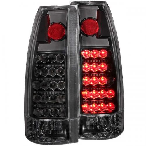 Chevrolet Suburban 1992-1999 LED Taillights Black ANZO