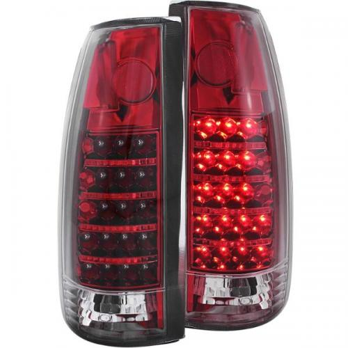 Chevrolet Suburban 1992-1999 LED Taillights Red/Clear ANZO
