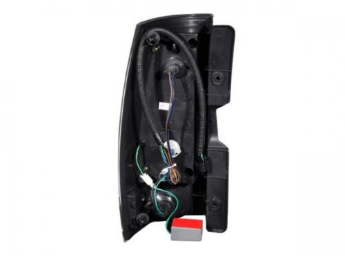 Chevrolet Suburban 2007-2014 LED Taillights Black ANZO