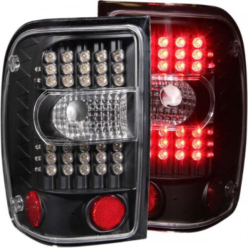 FORD Ranger 2001-2011 LED Taillights Black ANZO