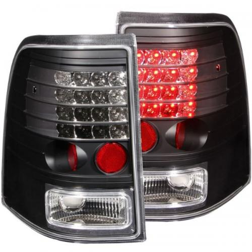 FORD Explorer 2002-2005 LED Taillights Black ANZO