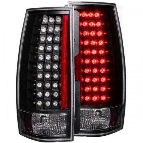 Chevrolet Suburban 2007-2014 LED Taillights Black G4 ANZO