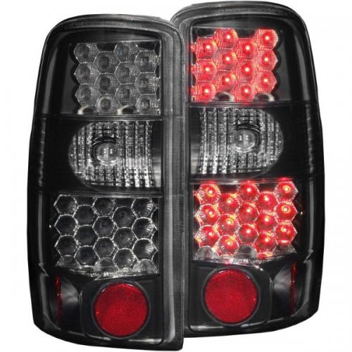 Chevrolet Suburban 2000-2006 LED Taillights Dark Smoke ANZO