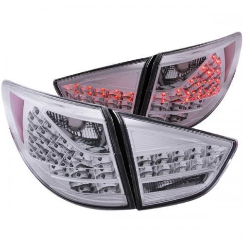 Hyundai Tucson 2010-2013 LED Baklampor Krom 4st ANZO