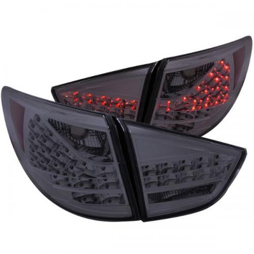 Hyundai Tucson 2010-2013 LED Baklampor Röktonade 4st ANZO