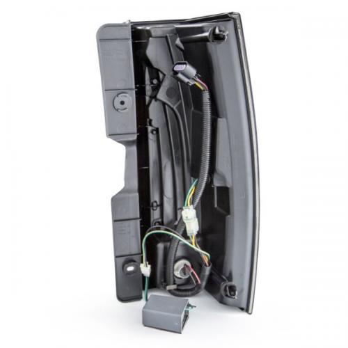 Chevrolet Suburban 2007-2014 LED Taillights Smoke G5 - Escalade Look ANZO