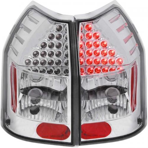 Dodge Magnum 2005-2008 LED Baklampor Krom ANZO