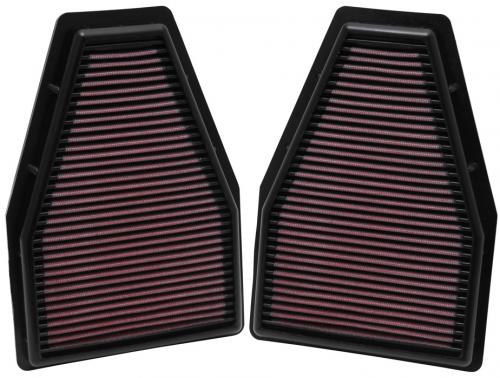 Porsche 991 3.4L / 3.6L / 3.8L 12-14 Ersättningsfilter K&N Filters