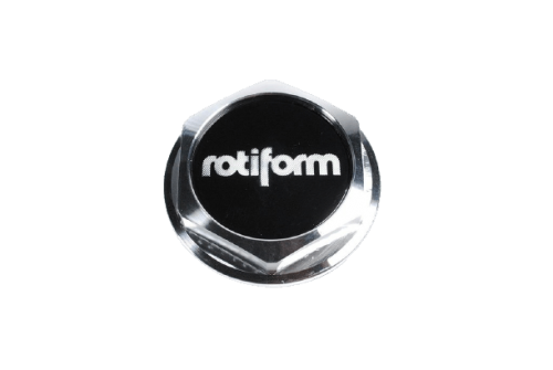 "Hex Center Cap ""Rotiform"" Machined Silver Rotiform"