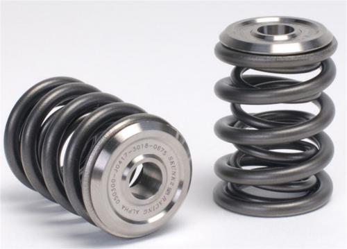 K20A - K20A2 - K20Z1 - K20Z3 - K24A2 Motorer Eller i-VTEC Toppar Alpha Ventilfjäderkit Med Ti Retainers Skunk2