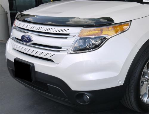 11+ Ford Explorer Aerowrap Hood Shield (393631) EGR