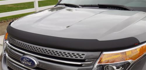 11-13 Ford Explorer Superguard Hood Shield - Matte (393635) EGR