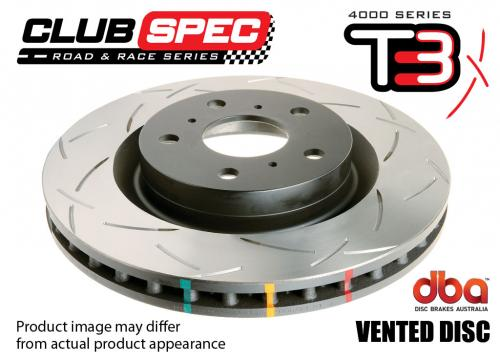 PORSCHE Rear 4000 series - T3 Brake Disc (Single) DBA