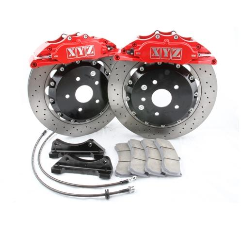 X-TRAIL 01 -07 5 X 114.3 330x32mm Front Brake Kit 6-Pot XYZ