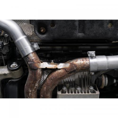 "Macan Turbo/S/GTS 14+ 2.5"""" Axle-Back Pro-Series Utan Ljuddämpare MBRP"