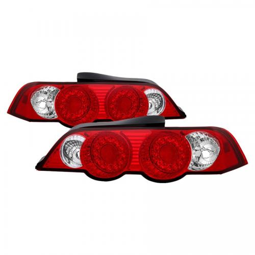 Acura RSX 02-04 LED Bakljus - Röda Klara