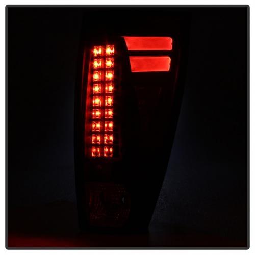 Chevy Avalanche 02-06 LED Bakljus - Svarta