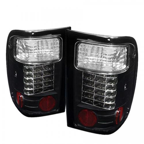 Ford Ranger 01-05 LED Bakljus - Svarta