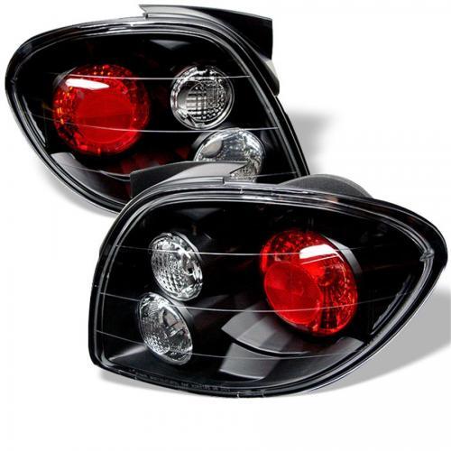 Hyundai Tiburon 00-02 Euro Style Tail Lights - Black