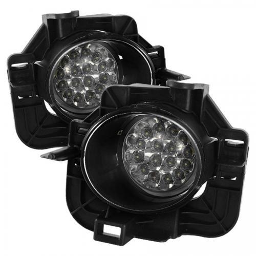 Nissan Altima 07-09 4Dr LED Dimljus Med Switch - Klara