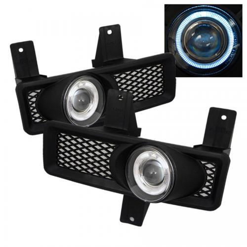 Ford F150 97-98 / F150 Heritage 97-98 / F250 LD 97-98 / Expedition 97-98 Halo Projector Fog Lights w/Switch - Clear