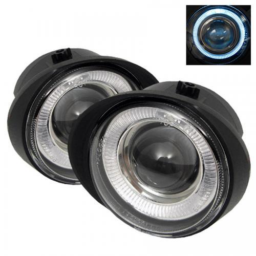 Nissan Altima 02-04 / Murano 03-05 / Infiniti FX35 FX45 03-06 Halo Projektor Dimljus Med Switch - Klara