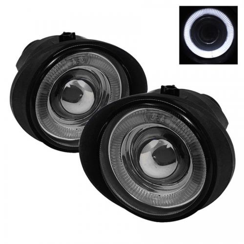 Nissan Altima 02-04 / Murano 03-05 / Infiniti FX35 FX45 03-06 Halo Projektor Dimljus Med Switch - Röktonade