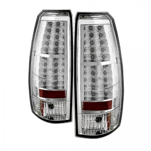 Chevy Avalanche 07-13 LED Bakljus - Krom