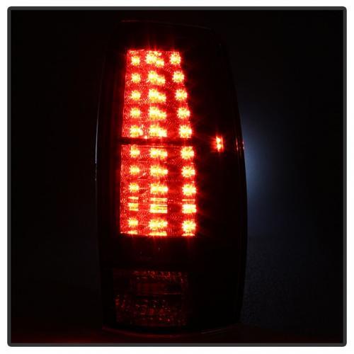 Chevy Avalanche 07-13 LED Bakljus - Svarta