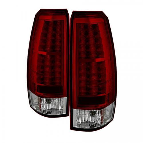 Chevy Avalanche 07-13 LED Bakljus - Röda Klara