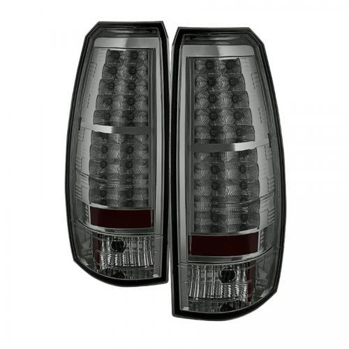 Chevy Avalanche 07-13 LED Bakljus - Röktonade