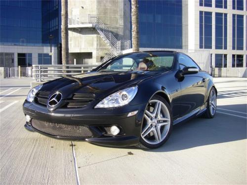 Mercedes Benz SLK 05-10 Strålkastare (Passar ej Xenon/HID-Modeller) - DRL - Krom
