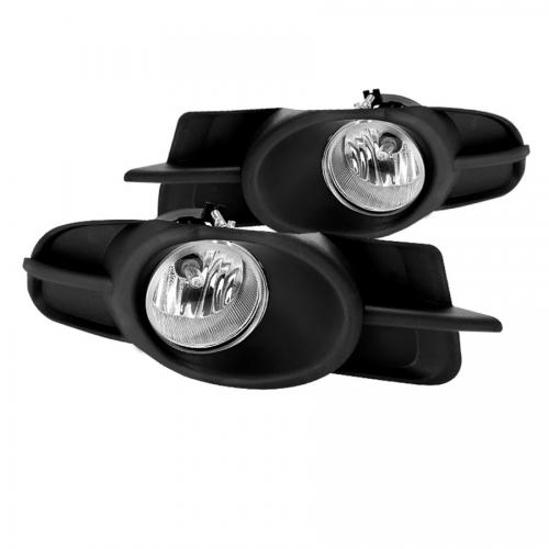 Mitsubishi Galant 09-12 OEM Fog Lights w/Switch - Clear