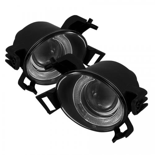 Nissan Altima 05-06 (Not Fit SE-R) / Nissan Quest 04-06 Halo Projector Fog Lights w/Switch - Clear