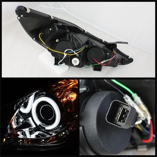 Hyundai Sonata 11-13 Strålkastare Projektor (Passar ej Hybrid Modeller) DRL – Röktonade