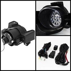 Nissan Altima 10-12 4Dr LED Dimljus Med Switch - Klara