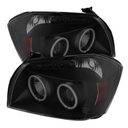 Dodge Magnum 05-07 Strålkastare Projektor LED (Utbytbara LEDs) - Svarta Röktonade