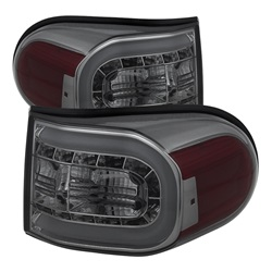 Toyota FJ Cruiser 07-13 Ljuslist LED Bakljus - Röktonade