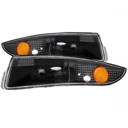 Chevrolet Camaro 1993-2002 Euro Parkeringsljus Svart / Orange Reflektor ANZO