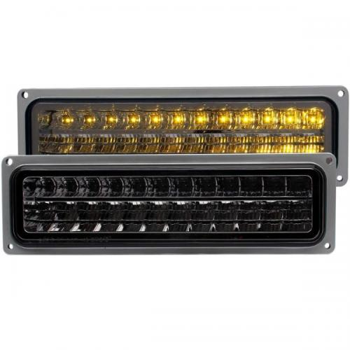 Chevrolet Suburban 1992-1999 LED Parking Lights Smoke ANZO