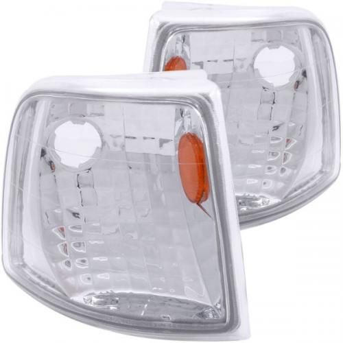 FORD Ranger 1993-1997 Euro Corner Lights Chrome w/ Amber Reflector ANZO