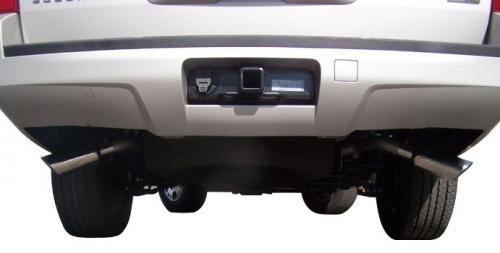 Chevrolet Avalanche LS 5.3L 07-12 Aluminiserat Cat-Back Avgassystem Gibson