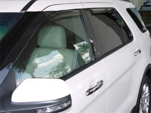11+ Ford Explorer In-Channel Window Visors - Set of 4 (573631) EGR